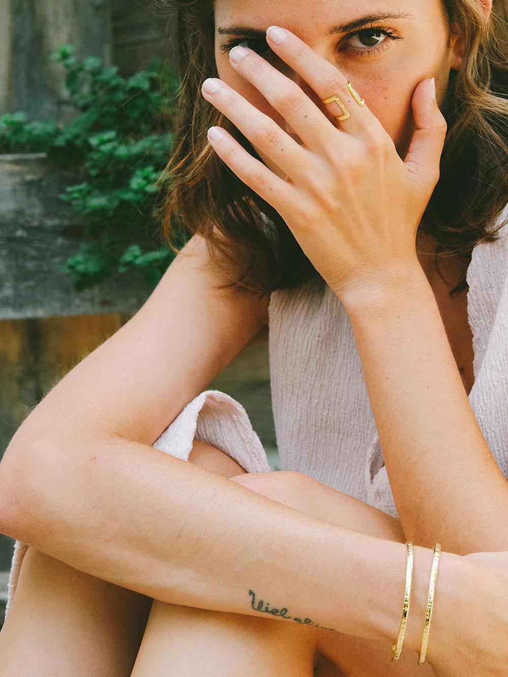 anillo de oro para diario, anillos de oro, martelie barcelona, anillos de diseño para mujer, joyasmarket