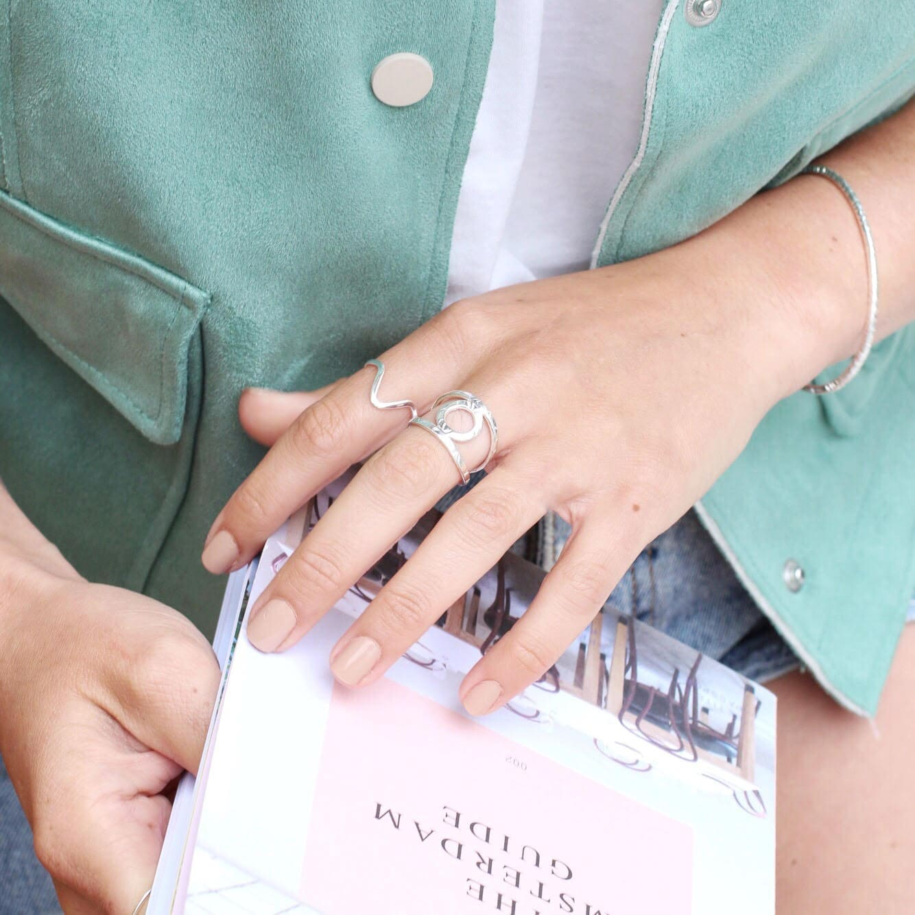 anillo de plata para la oficina, martelie barcelona, comprar anillos de plata baratos, joyasmarket