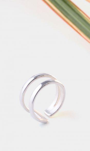 anillo de plata de diseño para mujer, regalar anillo aniversario, anillos para chicas