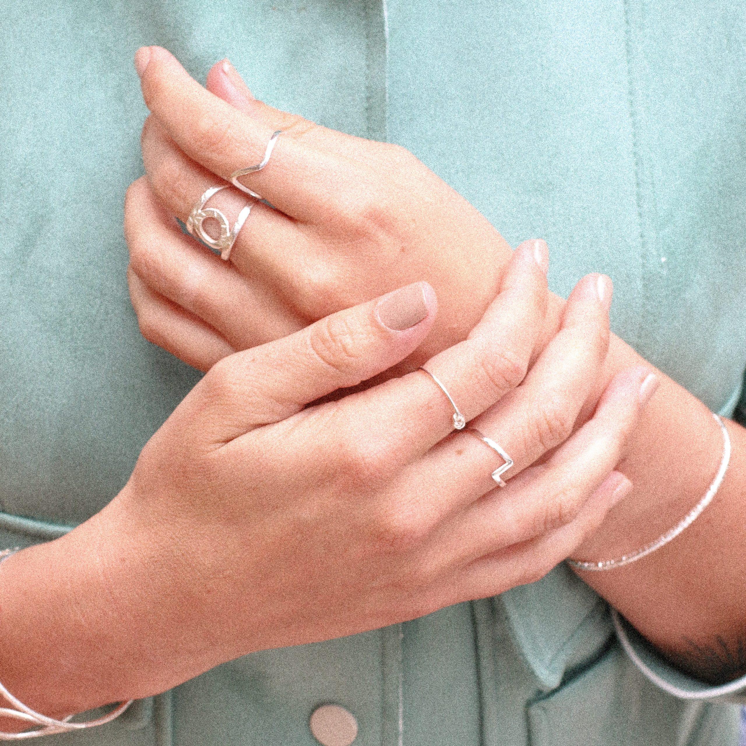 anillo de plata para chica, joyas para regalar a mi mejor amiga, anillos de plata para regalo, joyas marteliè barcelona, joyasmarket