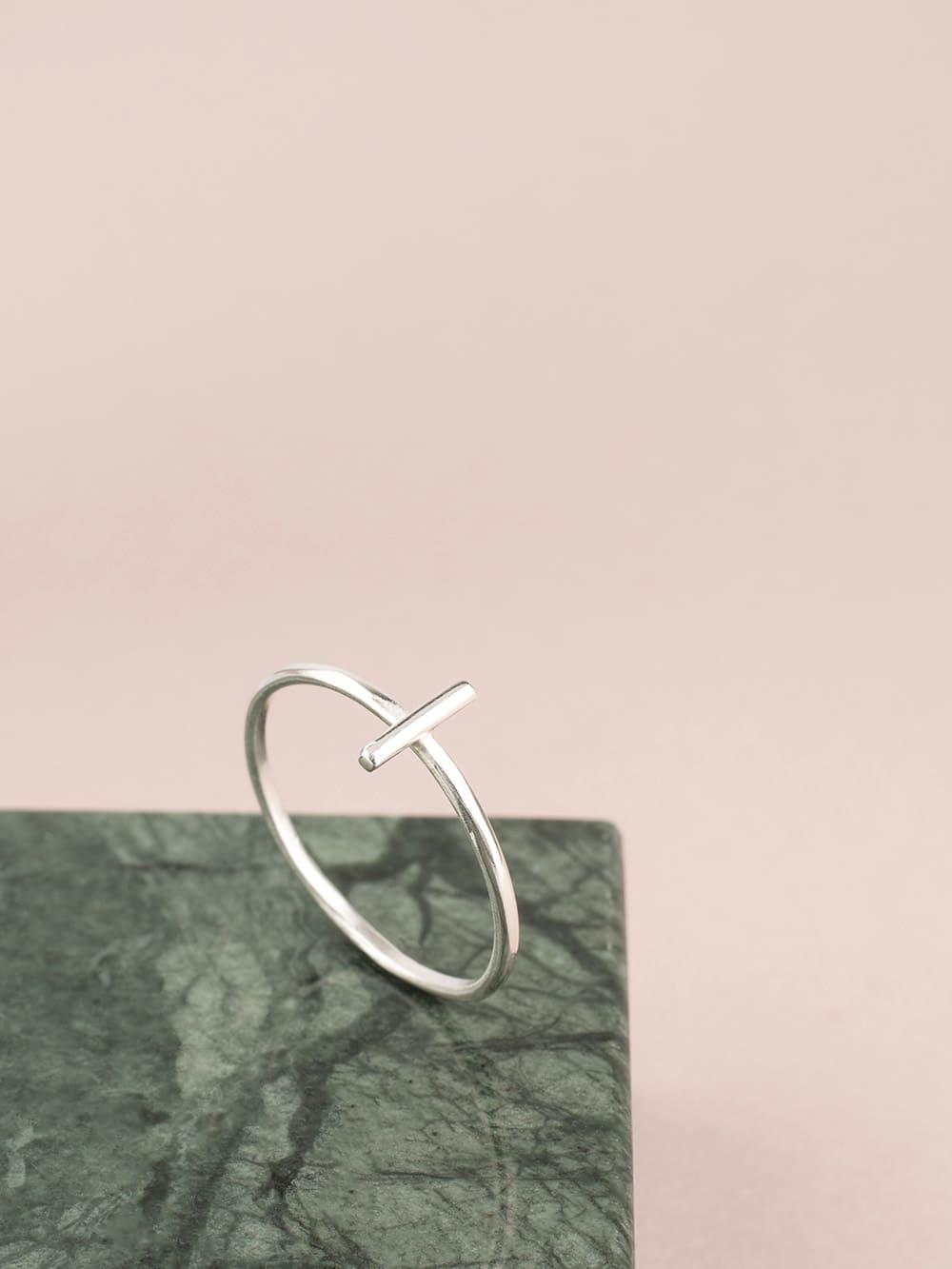 anillo barato de plata para mujer ideal para regalar