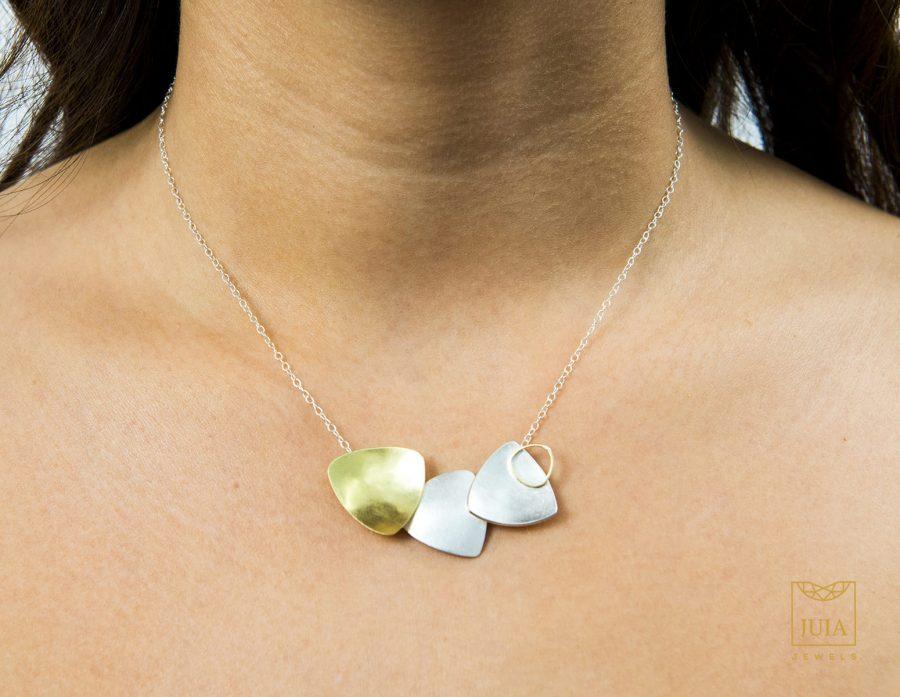 collar de oro para boda, collar de plata para regalar, collar aniversario