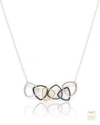 collar de plata para mujer, collar de diseño para mujer, collar de diseño para regalar