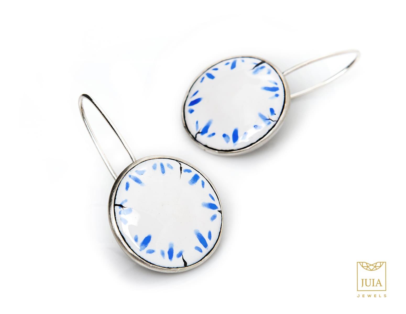 pendientes de plata para mujer, joyas artesanales, joyas para regalar, juia jewels barcelona, joyasmarket