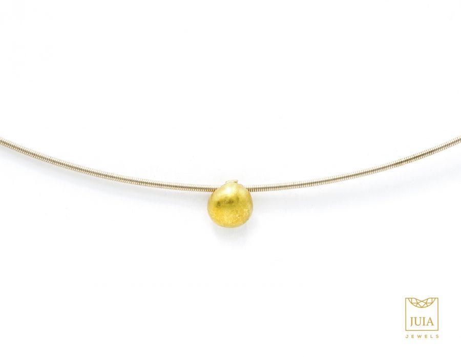 colgante de oro, collar de oro 18k, collar de oro fairmined