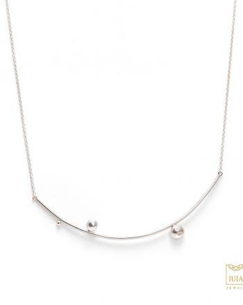 collar de plata para mujer