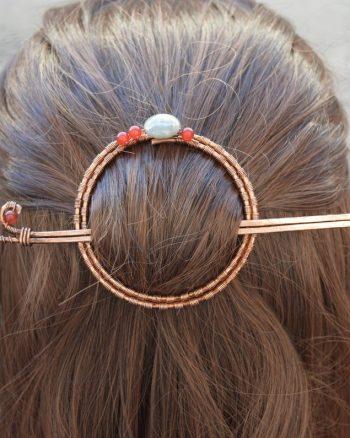 pasador de cabello para mujer, joyas para el cabello largo de mujer