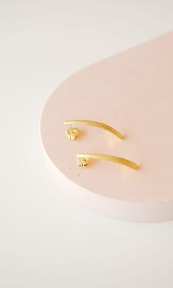 pendientes largos para mujer bañados en oro de 18k, pendientes largos para mujer