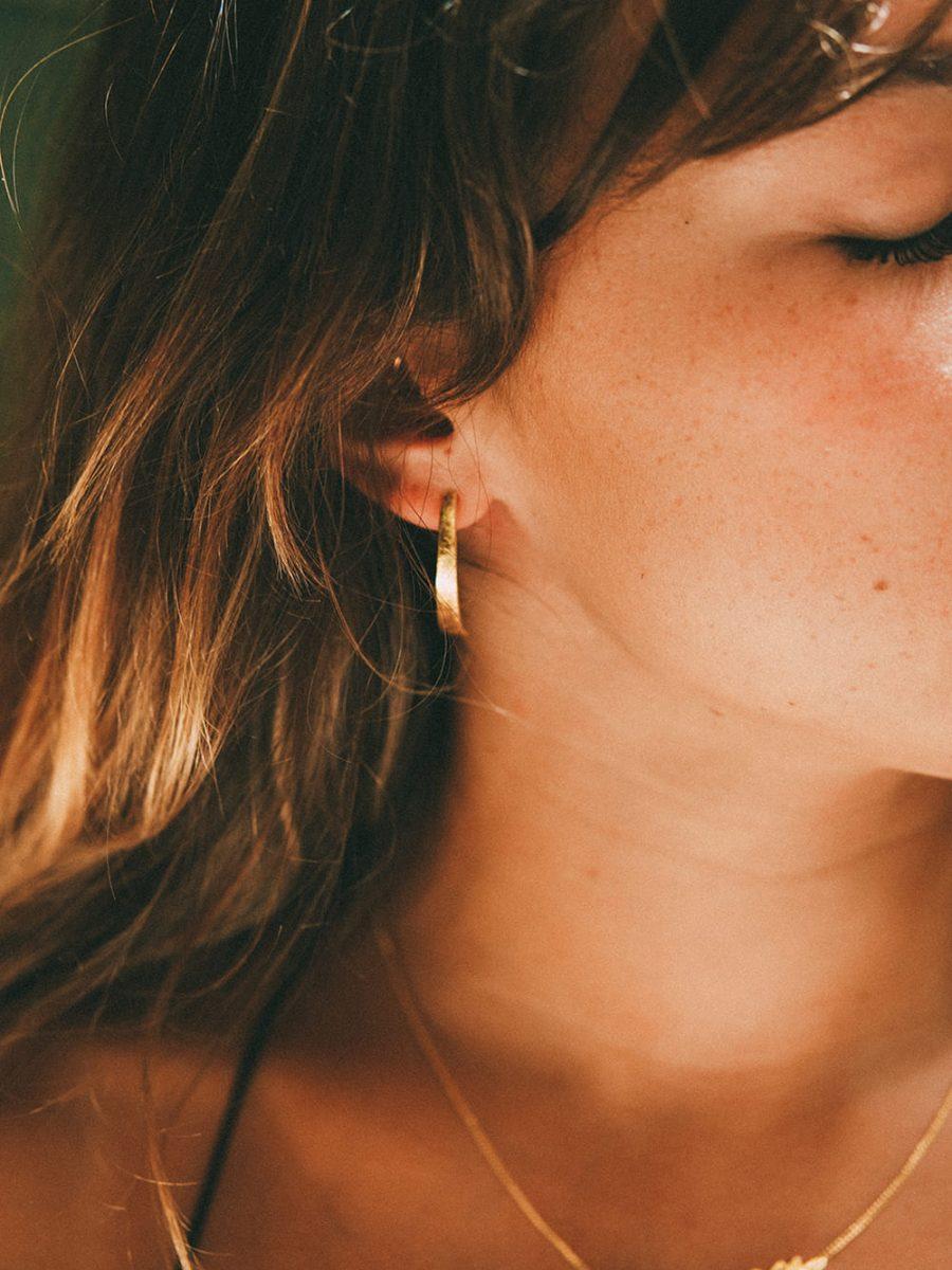 pendientes largos de oro para vestido, pendientes de oro para mujer, pendientes para boda