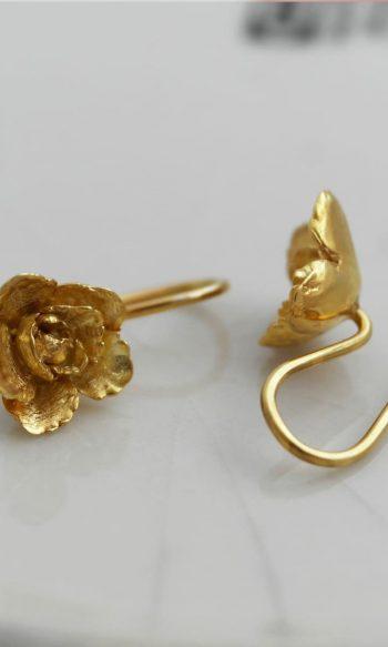 pendientes de oro para mujer, pendientes colgantes de oro, pendientes de oro para regalar