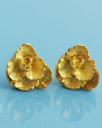 pendientes pequeños de oro para mujer