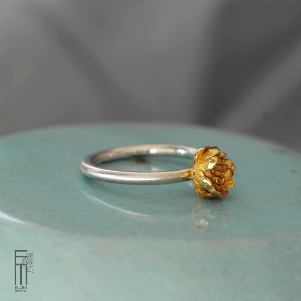 anillo de plata y oro para mujer, anillo de oro, anillo para regalar pareja, anillo para vestido, joyas para regalar, ellen mekiffer sevilla, joyasmarket