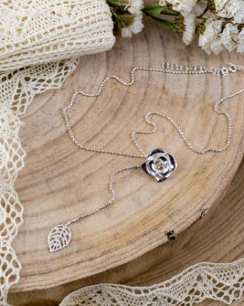 gargantilla de plata, cadena de plata de mujer, regalar joyas
