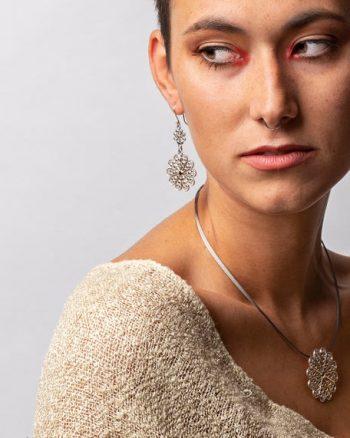 regalar collar de plata pareja, regalo navidad, regalar joyas navidad