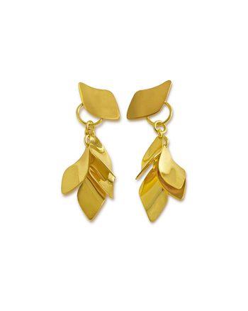 pendientes de oro para mujer, regalar pendientes de oro, regalar pendientes san valentin, pendientes para aniversario