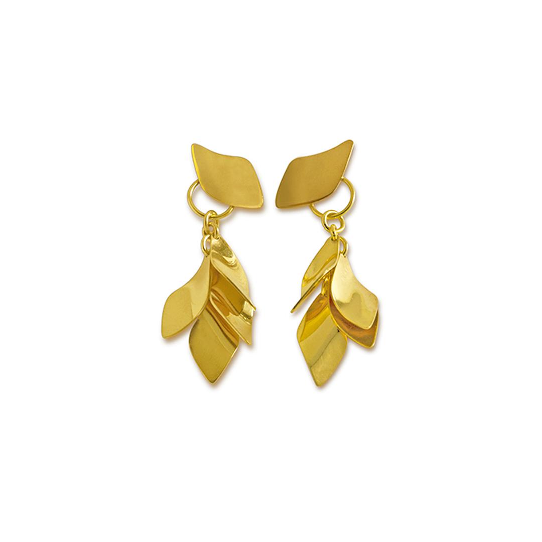 pendientes de estilo minimal para mujer, joyas de oro para regalo, genoveva arias, pendientes ligeros, pendientes largos, pendientes para regalo, joyasmarket