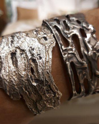 pulsera de plata magma, pulsera de plata para mujer