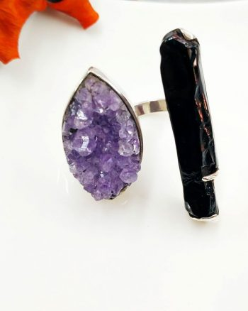 anillo con amatista para mujer, regalar anillo de mujer, anillo especial, anillo aniversario
