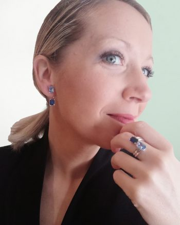 anillo con piedras azules, comprar anillos con circonitas